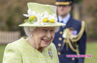 Британската кралица Елизабет Втора, която е на 95 години и