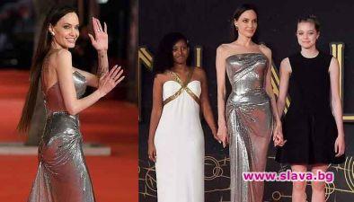 Анджелина Джоли е в Рим, където в рамките на ежегодния
