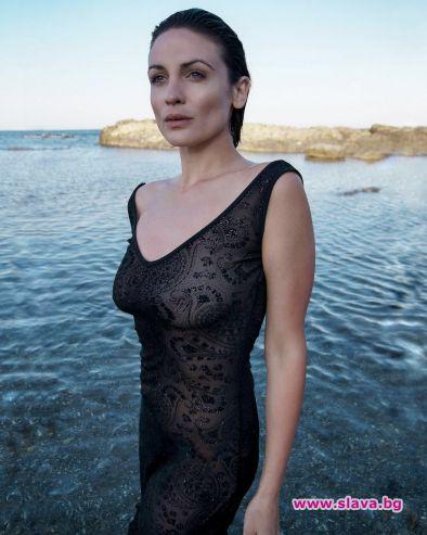 Актрисата Диана Димитрова, позната с безупречната си роля на д-р
